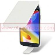 Bolsa / Capa Pele Sintetica Flip Para Samsung Galaxy Grand I9080 / Duos I9082 / Neo I9060 I9062 Branca