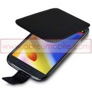 Bolsa / Capa Pele Sintetica Flip Para Samsung Galaxy Grand I9080 / Duos I9082 / Neo I9060 I9062 Preta