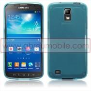 Capa Silicone Gel Para SAMSUNG GALAXY S4 IV ACTIVE I9295 Azul Transparente