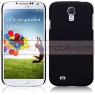 Capa Rigida Traseira Hibrida (Plastico C/Revestimento em Silicone) Para Samsung Galaxy S4 IV I9500 Preta Opaca