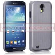 Capa Rigida Traseira (Plastico C/Traseira em Aluminio) Para Samsung Galaxy S4 IV I9500 Cinza