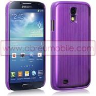 Capa Rigida Traseira (Plastico C/Traseira em Aluminio) Para Samsung Galaxy S4 IV I9500 Roxa