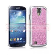 """Capa Rigida Traseira """"Brilhantes v2"""" Para Samsung Galaxy S4 IV I9500 Rosa"""