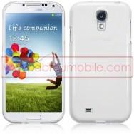 Capa Silicone Gel Para Samsung Galaxy S4 IV I9500 Branca Transparente