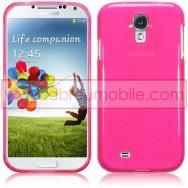 Capa Silicone Gel Para Samsung Galaxy S4 IV I9500 Rosa Transparente