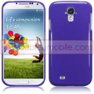Capa Silicone Gel Para Samsung Galaxy S4 IV I9500 Roxa Opaca