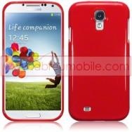 Capa Silicone Gel Para Samsung Galaxy S4 IV I9500 Vermelha Opaca