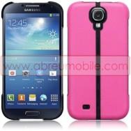 Capa Rigida c/ Função Cavalete Para Samsung Galaxy S4 IV I9500 Rosa