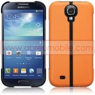 Capa Rigida c/ Função Cavalete Para Samsung Galaxy S4 IV I9500 Laranja