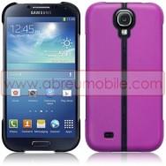 Capa Rigida c/ Função Cavalete Para Samsung Galaxy S4 IV I9500 Roxa