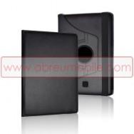 Bolsa / Capa Pele Sintetica Folio c/Ecra Rotativo Para SAMSUNG GALAXY TAB3 7.0 P3200 / P3210 / SM-T211 / SM-T215 Preta