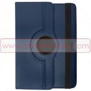 Bolsa / Capa Flip Cover c/ Suporte Rotativo e Cavalete Para SAMSUNG GALAXY TAB3 8.0 T3100 / T3110 Azul