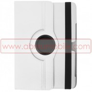 Bolsa / Capa Flip Cover c/ Suporte Rotativo e Cavalete Para SAMSUNG GALAXY TAB3 8.0 T3100 / T3110 Branca