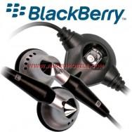 Auricular Estereo Original BLACKBERRY 2.5MM Para (COMPATIBILIDADE NA DESCRIÇÃO) PRETO