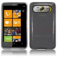 CAPA SILICONE GEL PARA HTC HD7 BRANCA (TRANSPARENTE)