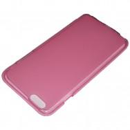 Capa Silicone Gel Fusca Para SAMSUNG GALAXY CORE PRIME G360 Rosa Transparente