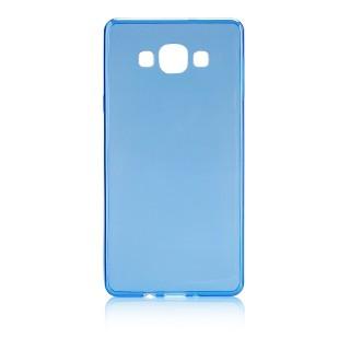 Capa Silicone Gel Ultra Fina Para ALCATEL ONE TOUCH POP C3 Azul Transparente