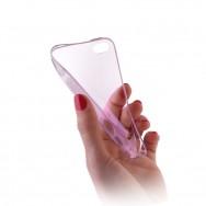 Capa Silicone Gel Ultra Fina Para ALCATEL ONE TOUCH POP C3 Rosa Transparente