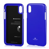 "Capa Silicone Gel Mercury Goospery Pearl Jelly Para SAMSUNG GALAXY J6 2018 SM-J600 (5.6"") Azul"