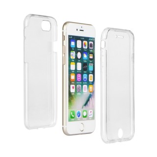 Bolsa / Capa Silicone Gel Ultra Fina 360º Para APPLE IPHONE X Transparente