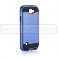Capa Rigida c/ Interior Em Silicone Para LG K3 (K100) Azul